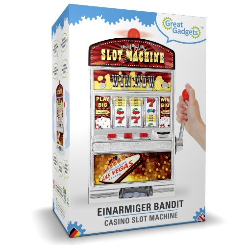 GreatGadgets 1890 Casino Slot Machine – Einarmiger Bandit (38 cm) - 7