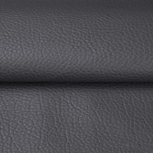 ANMINY Vinyl Faux Leather Fabric Cotton Back for Hand Crafts DIY Tooling Sewing Hobby Workshop product image