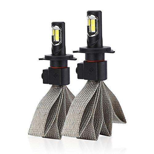 2Pcs H4 Phare de Remplacement Ampoule S7 Voiture Project LED Voiture Signal Éclairage Lampe Universel Application