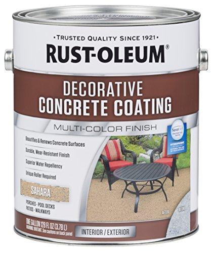 Rust-Oleum 301297 Decorative Concrete Coating, Sahara