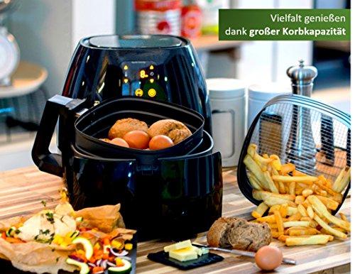 Philips HD9240/90 Airfryer XL Heißluftfritteuse, 2075 W – 2100 W, 1,2kg Kapazität, schwarz - 4