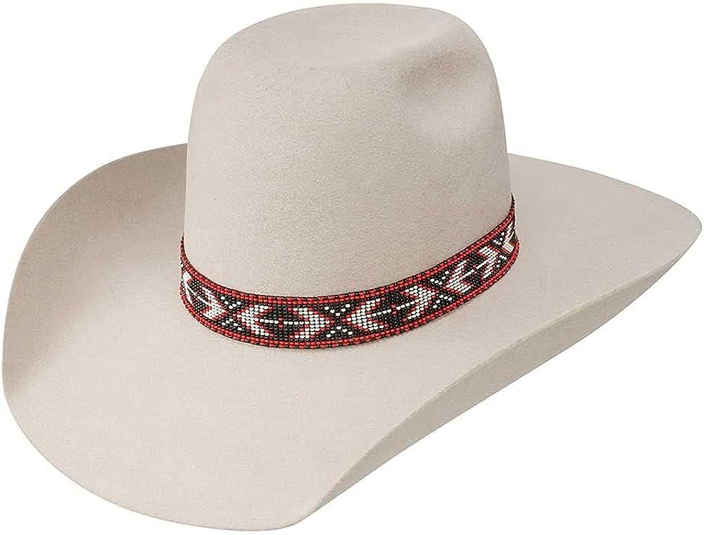 RESISTOL Hooey Presidio Max 61% Popular overseas OFF - 4X Wool Cowboy Hat Silver