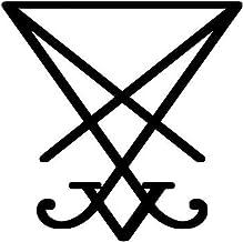 Lucifer Sigil - Sticker Graphic - Auto, Wall, Laptop, Cell, Truck Sticker for Windows, Cars, Trucks