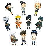 CoolChange 10 imanes con los Personajes Chibi de Naruto