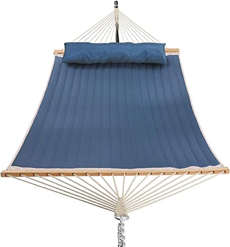 Patio Watcher 11 Feet Quilted Fabric Hammock - Best Hammock For Bed Replacement
