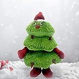 Blue-Yan Christmas Electric Singing and Dancing Christmas Tree Peluches para Decoraciones de árboles de Navidad, Regalos para niños Regalos Niños y niñas Cumpleaños Juguetes interactivos