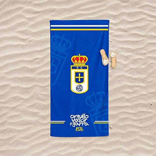 TEJIDOS EL MUNDO Toalla DE Playa 75x155 cm Real Oviedo