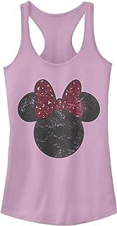 Disney womens Minnie Leopard Bow T-Shirt