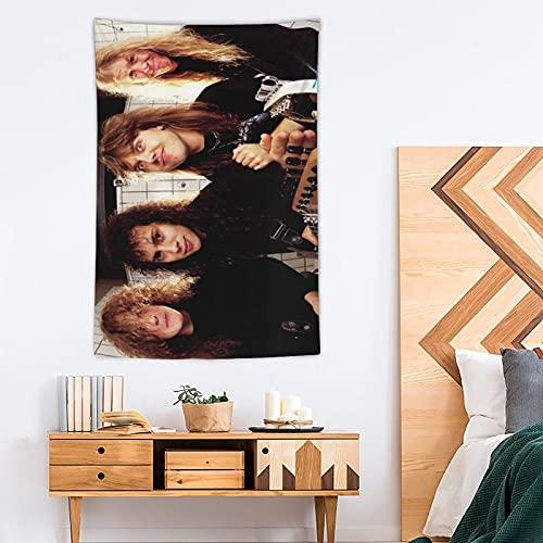 ONID Tapiz metálico Pop Art - Tapiz de poliéster - Decoración para el hogar - 100 x 150 cm