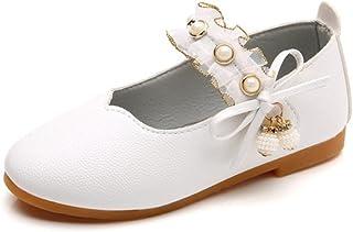 838613c015272 Ouneed- EU21-36 Bebe Fille Chaussures en Cuir Bebe Fille Ballerine de  Princess Chaussure