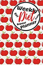 Weekly Diet Planner: A daily Diet Journal, your help in achieving the Goals during your next 12 weeks! (6x9 in.)