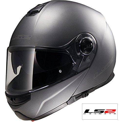 Casco delantero: LS2 FF325 Strobe ECE Vibración Certificado Moto Delantero del...