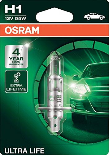 Preisvergleich Produktbild Osram ULTRA LIFE H1,  Halogen-Scheinwerferlampe,  64150ULT-01B,  12V PKW,  Einzelblister (1 Stück)