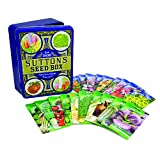 Suttons - Blue Heritage Tin with 20 Pack of Seeds