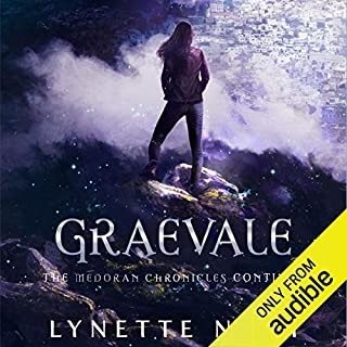 Graevale     The Medoran Chronicles, Book 4              By:                                                                                                                                 Lynette Noni                               Narrated by:                                                                                                                                 Carly Robins                      Length: 13 hrs and 54 mins     31 ratings     Overall 4.6