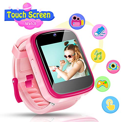 Kids Smart Watch, Children Smartwatches for 4-10 Year Old Kids, Multi-Function Touchscreen Smartwatch with Camera and Game Wrist Watch Educational toys Best Christmas Birthday Gifts for Boys Girls