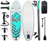 Best Paddle Boards - Aqua Plus 11ftx33inx6in Inflatable SUP for All Skill Review