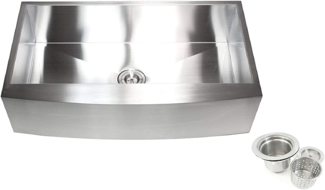 Contemporary Durable Zero safety Radius 16 Steel Single Super-cheap Stainless Gauge