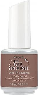 ibd Just Gel Nail Polish - 2017 Nude Collection - Dim the Lights - 14ml / 0.5oz