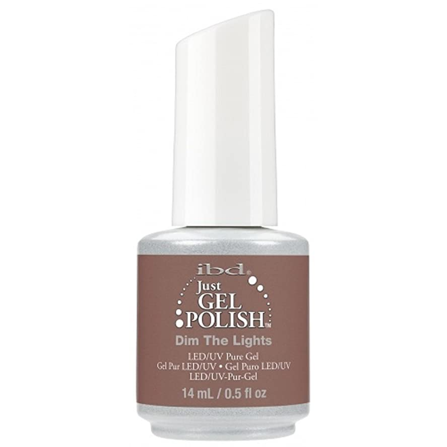 第九アスペクト風変わりなibd Just Gel Nail Polish - 2017 Nude Collection - Dim the Lights - 14ml / 0.5oz