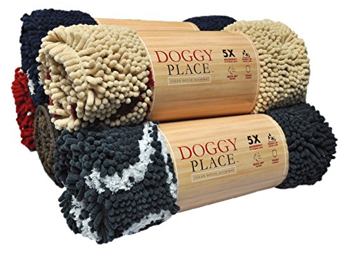 My Doggy Place Ultra Absorbent Microfiber Hond Deurmat Groot (36