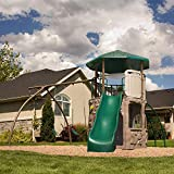 Lifetime Monkey Bar Adventure Swing Set with 9...