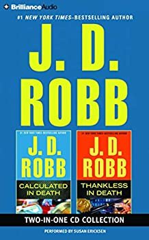 Audio CD J. D. Robb – Calculated in Death and Thankless in Death 2-in-1 Collection (In Death Series) Book