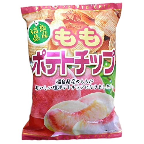 福島県産 ももポテトチップ 120g 5袋セット ザワつく金曜日で紹介
