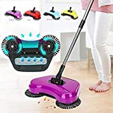 Taste Hub Sweep Drag All-in-One Household Hand Push Rotating Sweeping Broom, Room and Office Floor Sweeper Cleaner Dust Mop Set.