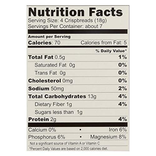 Le Pain Crispbread Buckwheat 4.41 oz (Pack of 6)