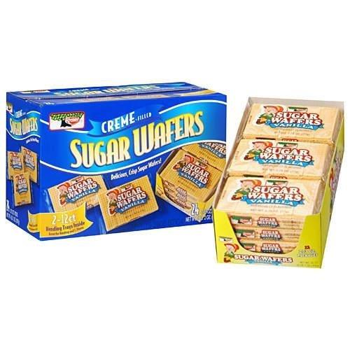 Keebler Vanilla Sugar Wafers of 2.75 Oz - 24 Pack