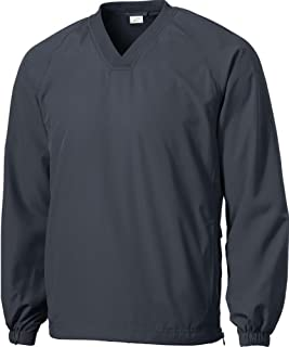 v neck pullover golf jackets