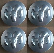 Wheel Center Caps Cap Dodge Oem Retrofit Kit of 4 Mopar MATTE FINISH by Replacement