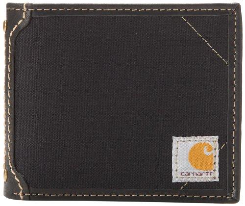 Carhartt Men's Billfold Wallet, Canvas - Black, One Size