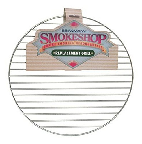 """Brinkmann Smoke Shop Replacement 15.5"""" Round Chrome Cooking Grill 115-0003-0"""