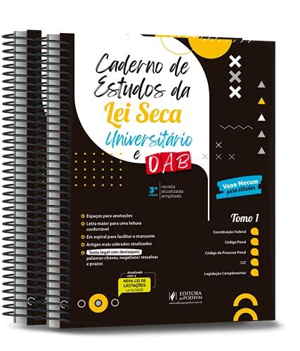 Caderno de Estudos da Lei Seca - Universitário e Oab - 3ª Edição (2021)
