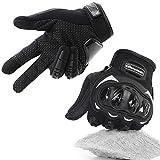 COFIT Motorrad Handschuhe, Touchscreen Motorradhandschuhe für Motorradrennen, Mountainbike,...