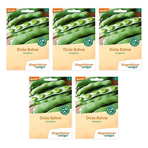 Bingenheimer Saatgut - Dicke Bohne Hangdown - 5er Pack