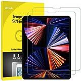 JETech Protection Écran Compatible avec iPad Pro 12,9 Pouces Côte à Côte écran Liquid Retina, Film de Protection en Verre Trempé, Lot de 2