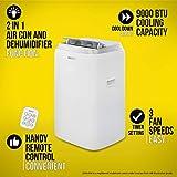 Zanussi ZPAC9002 Air Conditioner, 950 W, 1 Liter, White