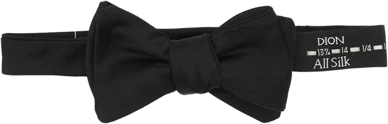 Dion Men's Silk Grosgrain Bow Tie
