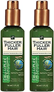 Thicker Fuller Hair Instantly Thick Serum, (pack of 2)