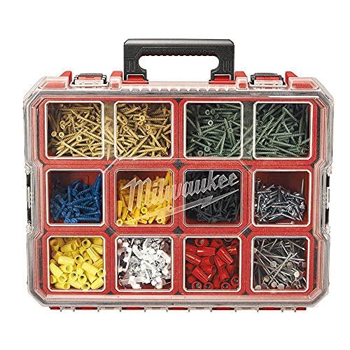 Milwaukee – 225046 – Organizador Profundo Compartimento, 37 x 46 x 11 cm – Vermelho