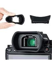 Kiwifotos Visor Ocular para Sony Alpha A7 A7II A7III A7R A7RII A7RIII A7RIV A7S A7SII A9 A58 A99II sustituir Sony FDA-EP18 FDA-EP16 Eyecup