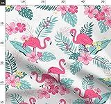 Flamingo, Flamingos, Dschungel, Tropisch, Blätter, Hawaii,