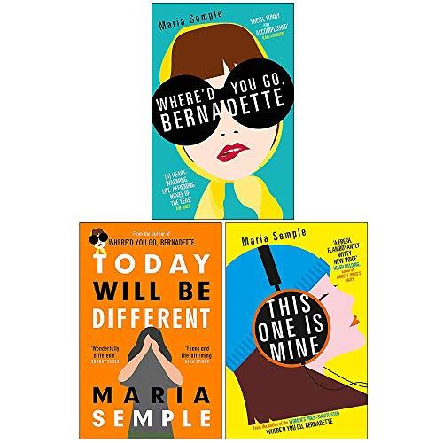 Maria Semple Collection 3 Books Set (Where