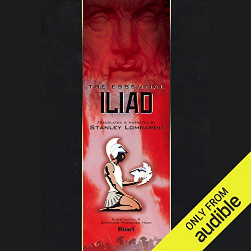 The Essential Iliad audiobook cover art