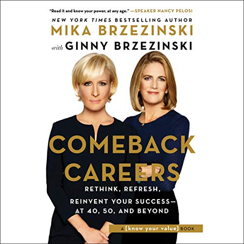 Comeback Careers audiobook cover art
