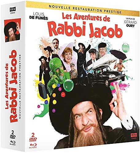 Les Aventures de Rabbi Jacob [Restauration Prestige-Blu-Ray + DVD]
