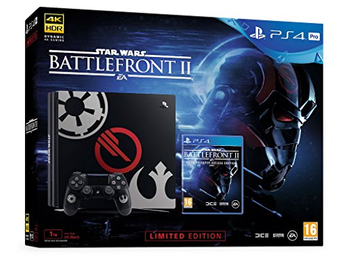 Photo of Sony PlayStation 4 Pro Star Wars Battlefront II Limited Edition Console (EU) [playstation_4]